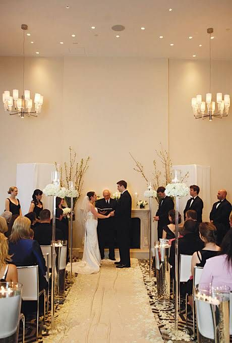 A Glamorous Wedding at a Boutique Hotel