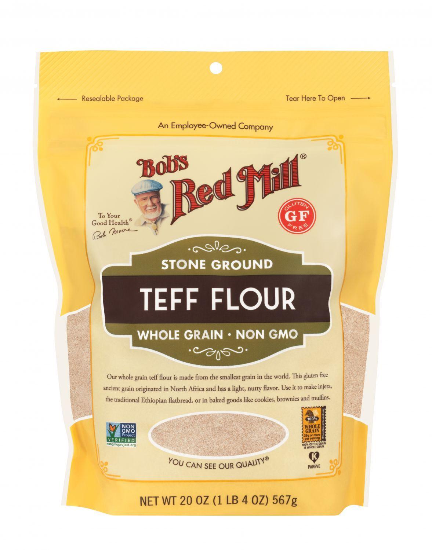 Teff Flour Sorghum Flour Corn Flour Recipes Teff Flour