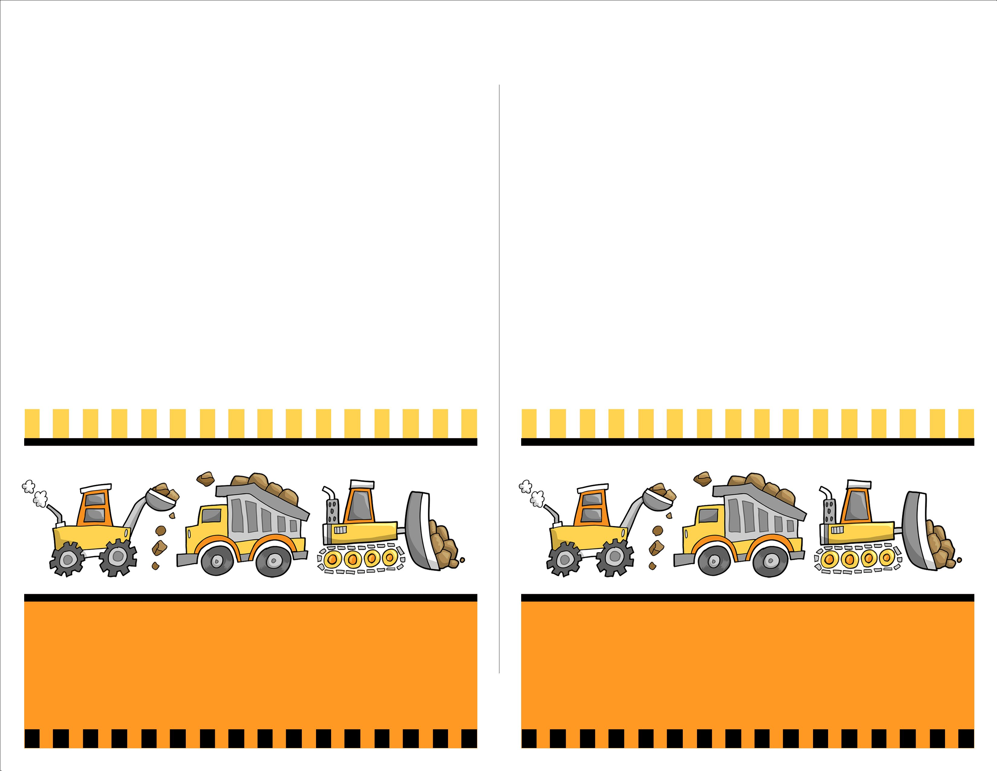Construction Birthday Party With Free Printables Construction Birthday Invitations Construction Birthday Construction Party Invitations