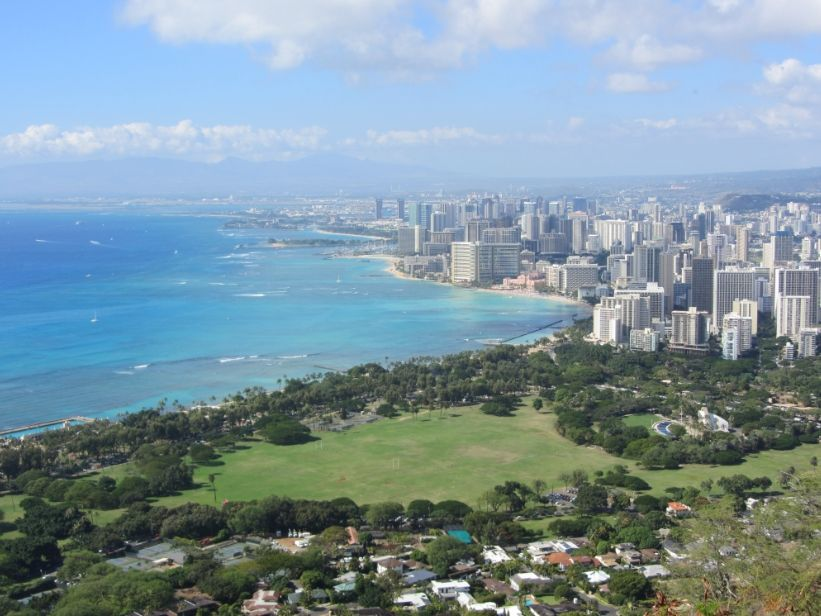 Diamond Head Hawaii Oahu Waikiki