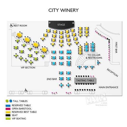 city winery nashville seating chart - Denmarimpulsar