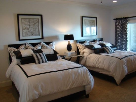 Two bed bedroom decor
