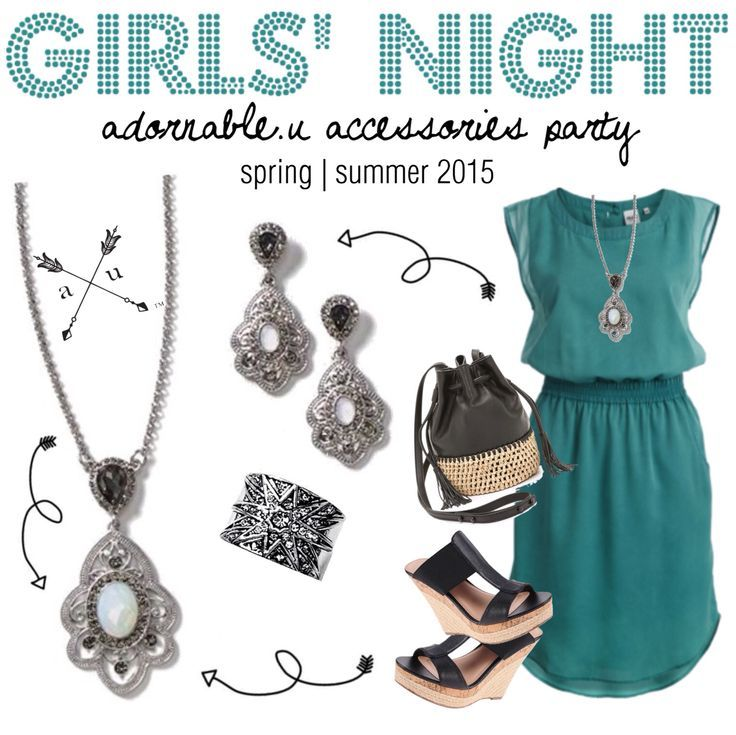 Girls' Night! adornable.u theme party
