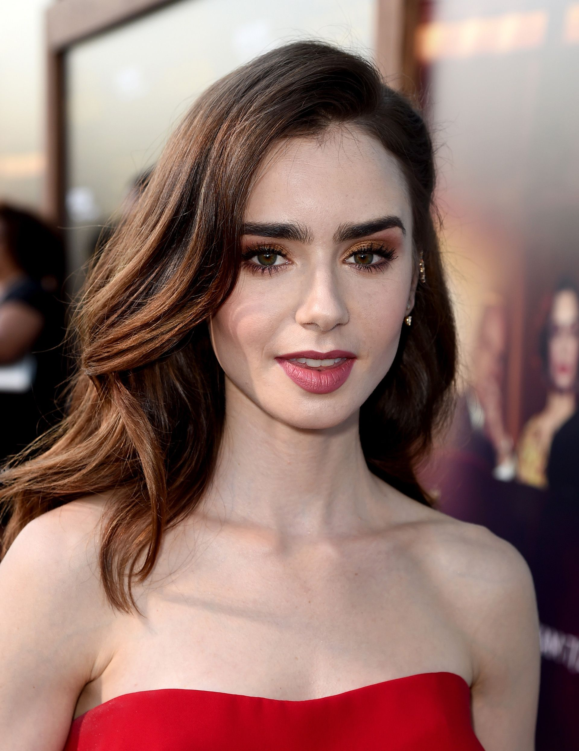 Watch Lily Collins video