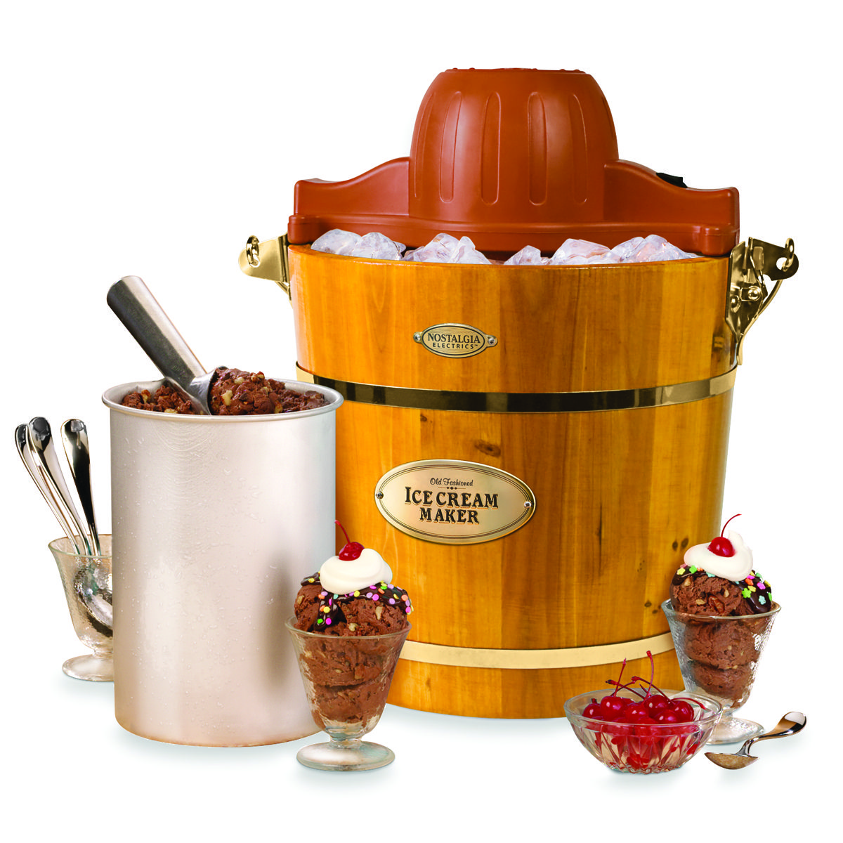 Accesorios De Cocina Originales Old School Ice Cream Maker Mmm Wish List Pinterest