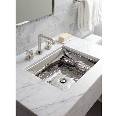 Kallista Stainless Steel Sinks By Mick De Giulio Modern White Bathroom Stainless Steel Bathroom Sink Sink Design