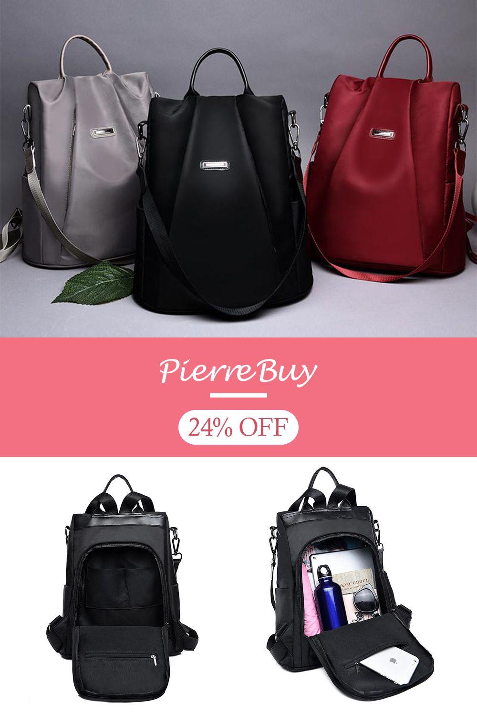 091439916e8b Anti-theft Women Waterproof Backpack (buy two get one 35 ...