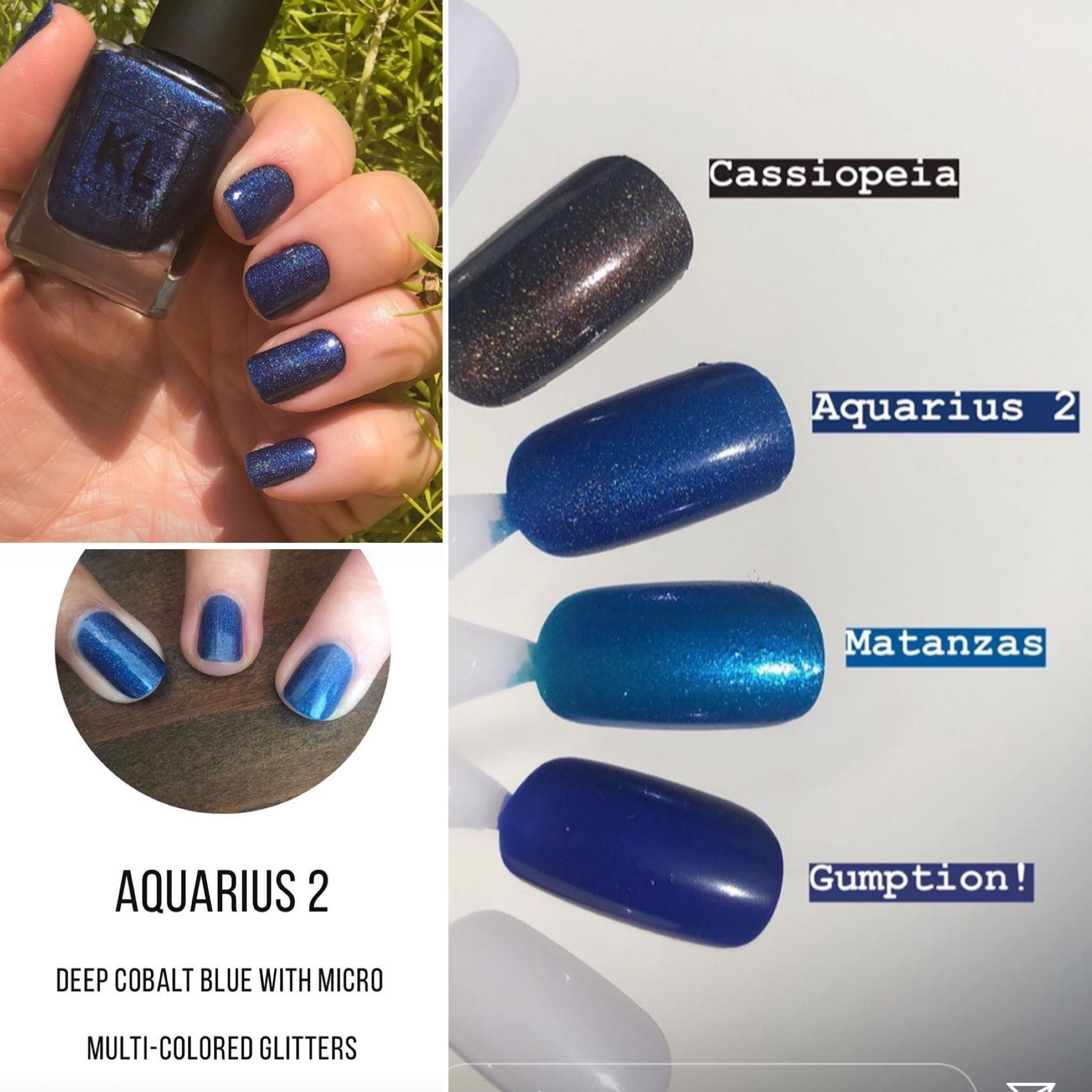 Kl Polish Aquarius 2 Toe Nail Designs Beauty Nails Toe Nails