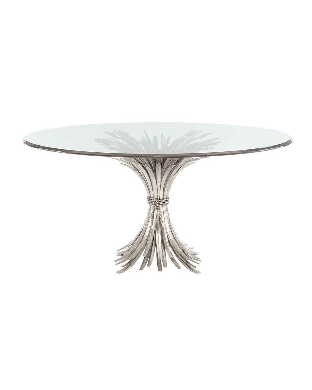 Bernhardt Gwinn Glass Top Dining Table 2295 Free Shipping Or