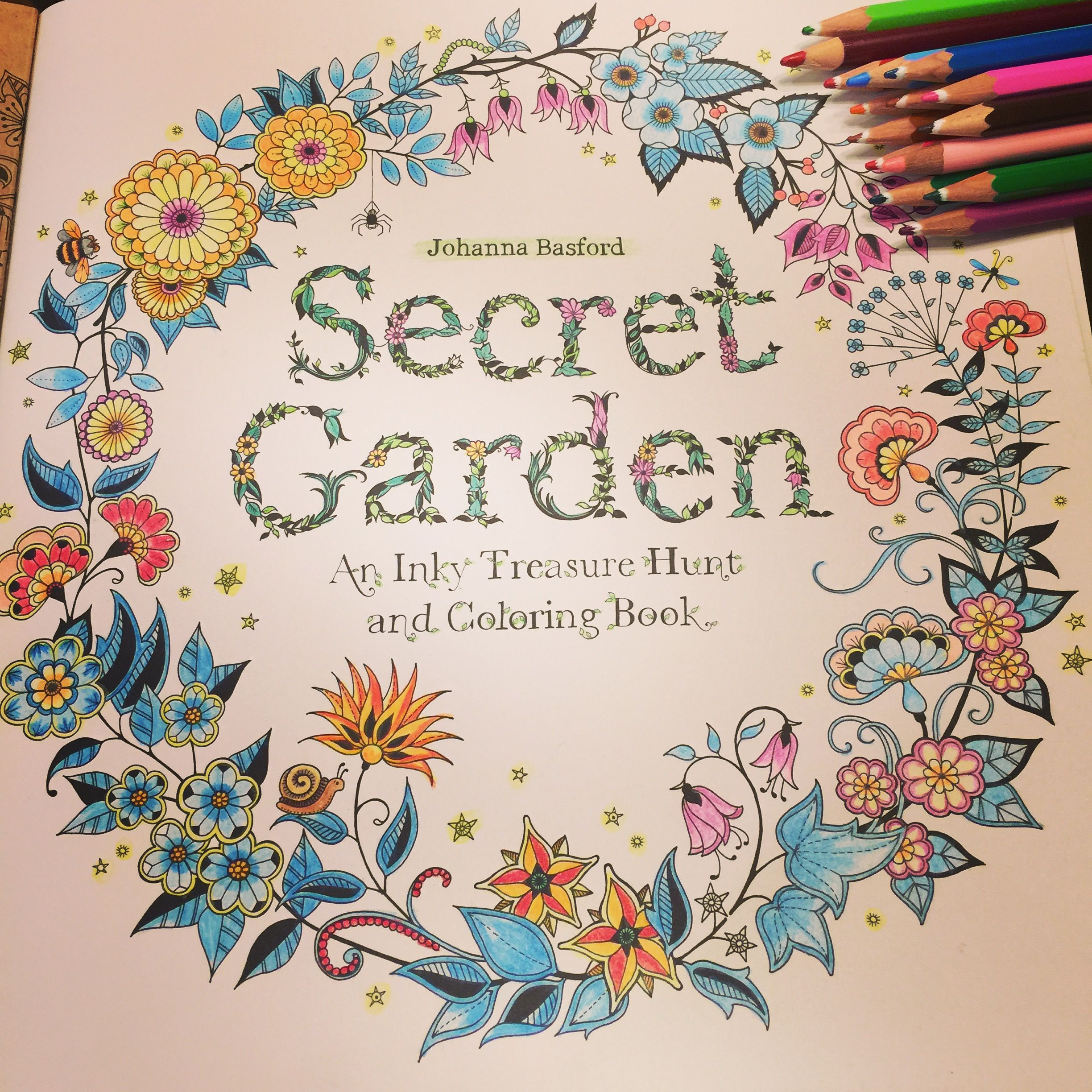 Colored by Shirley zhu   My secret garden coloring book -----colored ...