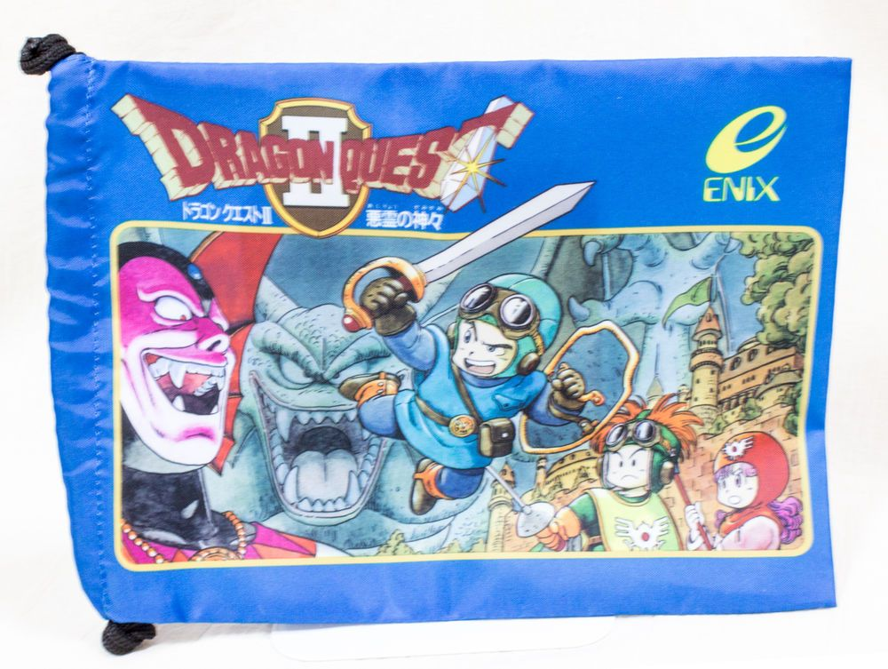 Dragon Quest 2 Jacket Picture Mini Bag Square Enix Japan Game ドラゴンクエスト ミニバッグ 25周年