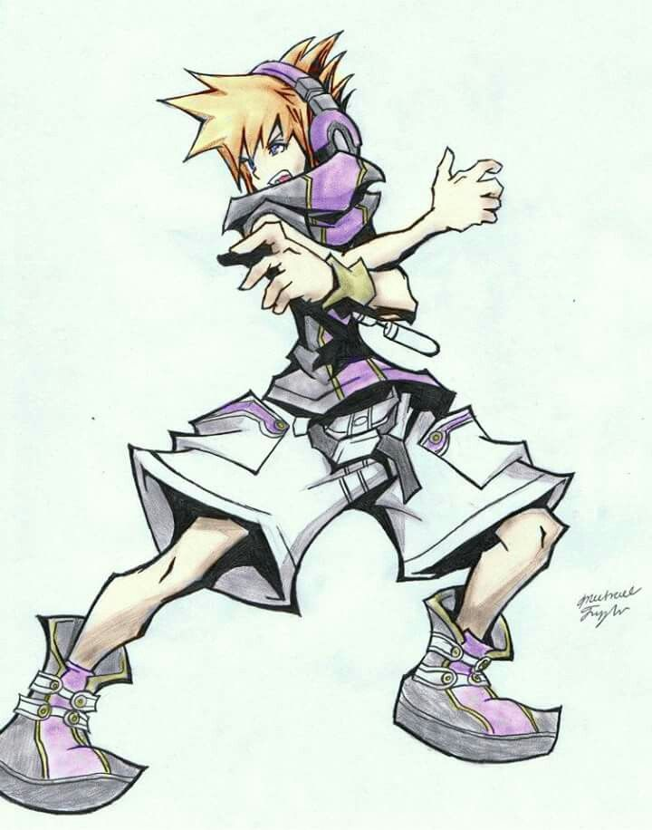 Neku the world ends with you end of the world manga