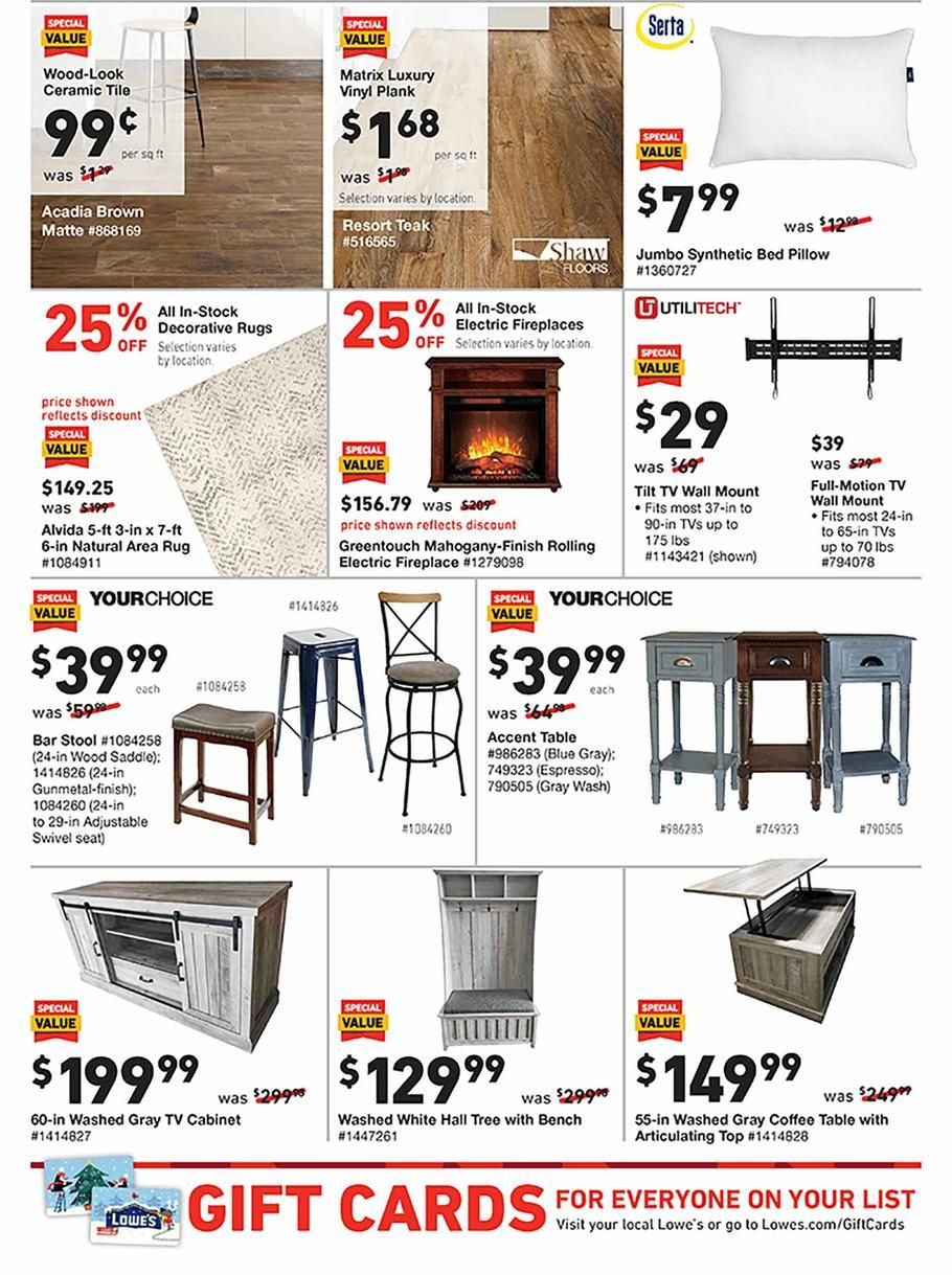 Lowes Black Friday Ad Scan Deals And Sales 2019 Black Friday Ads Black Friday Luxury Vinyl Plank