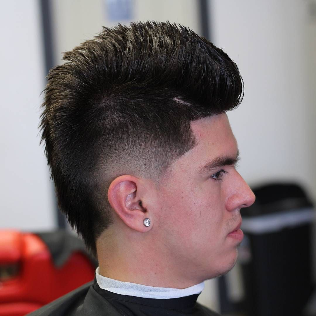 awesome fohawk haircut designs for men #awesome #designs