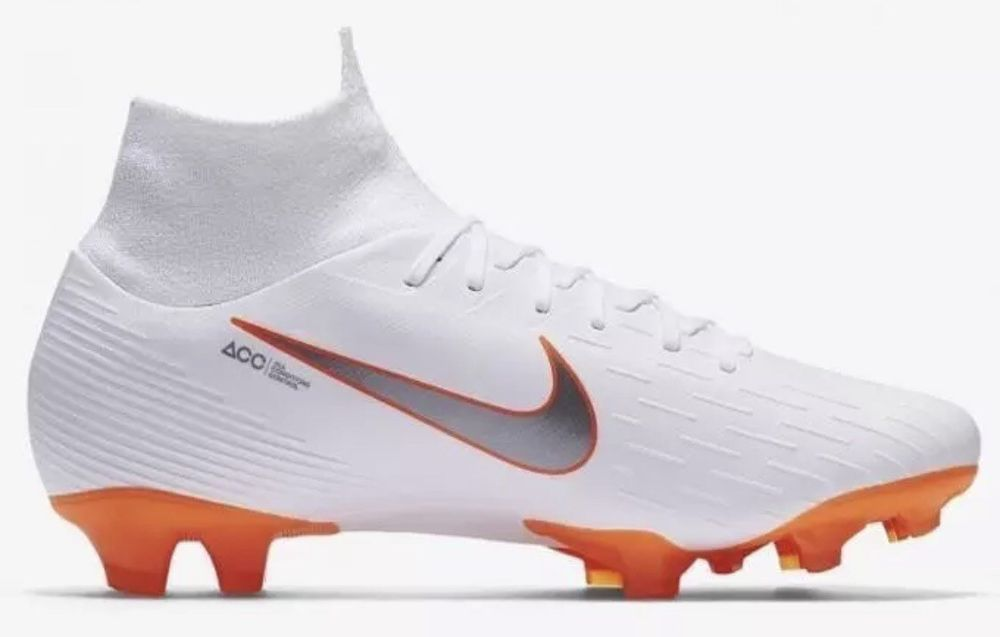 e46a3786b Nike Mercurial Superfly 6 Pro FG DF ACC White Orange Grey AH7368 107 Size 8  (eBay Link)