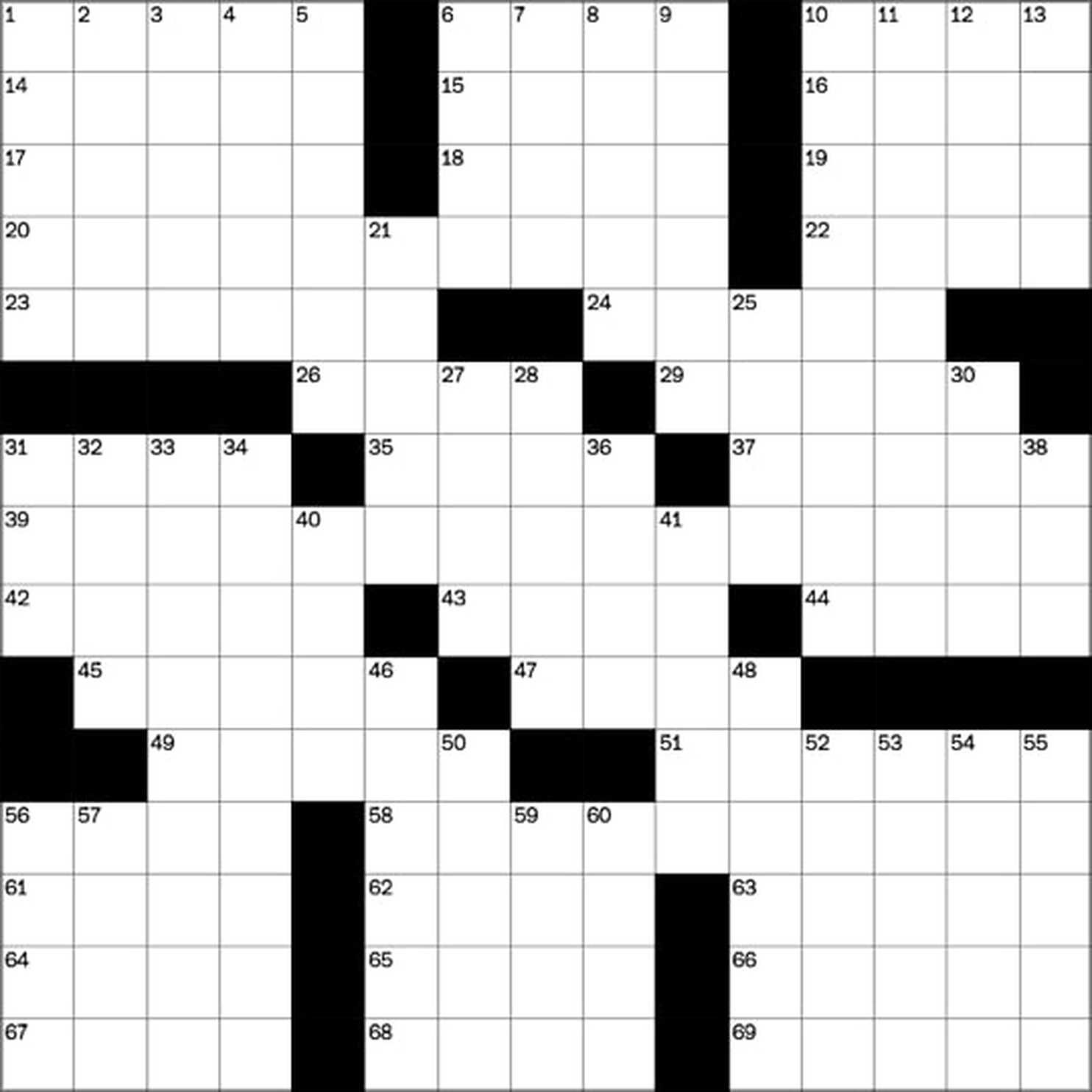 Daily Crossword Puzzles Free From The In