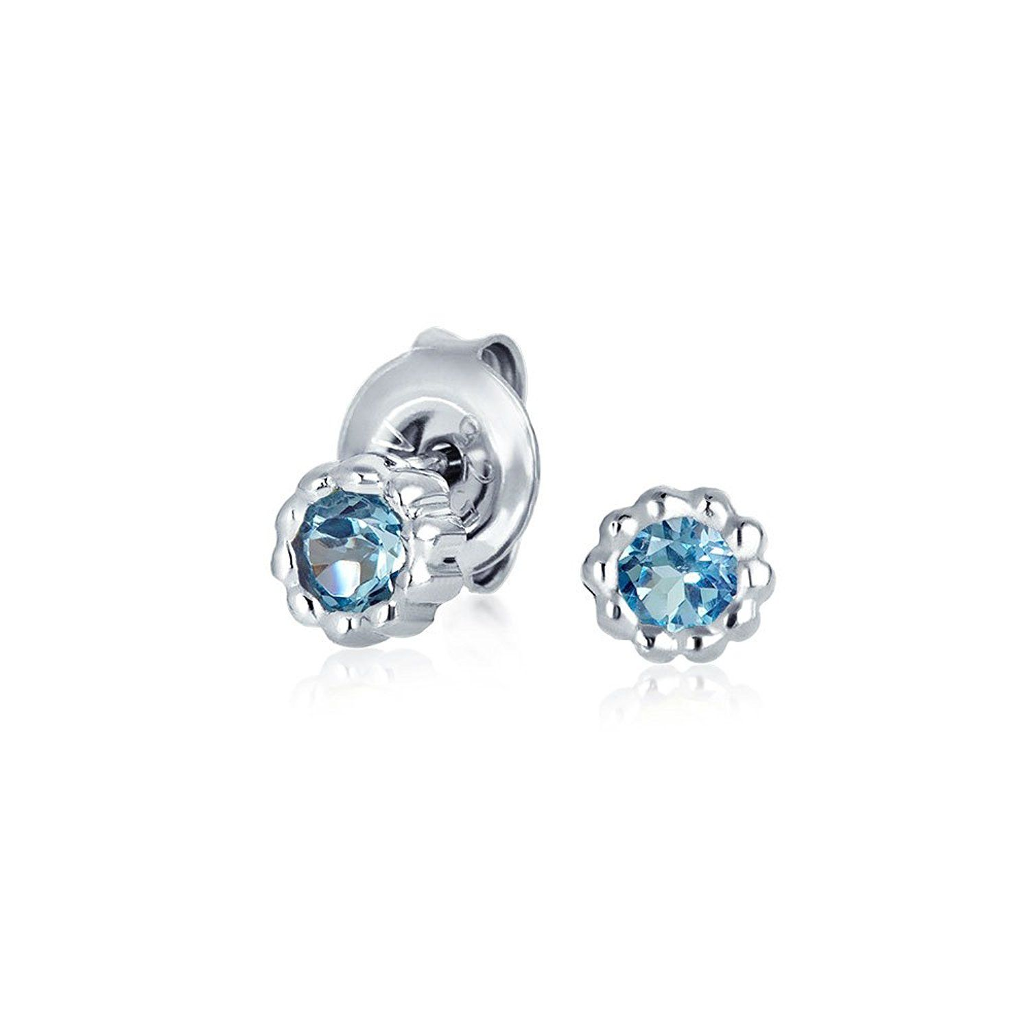 pandora silver hut charm signature heart stud the jewel december birthstone