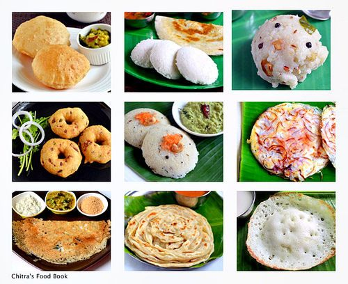 South Indian Breakfast Recipes Top 15 Tiffin Items List Of
