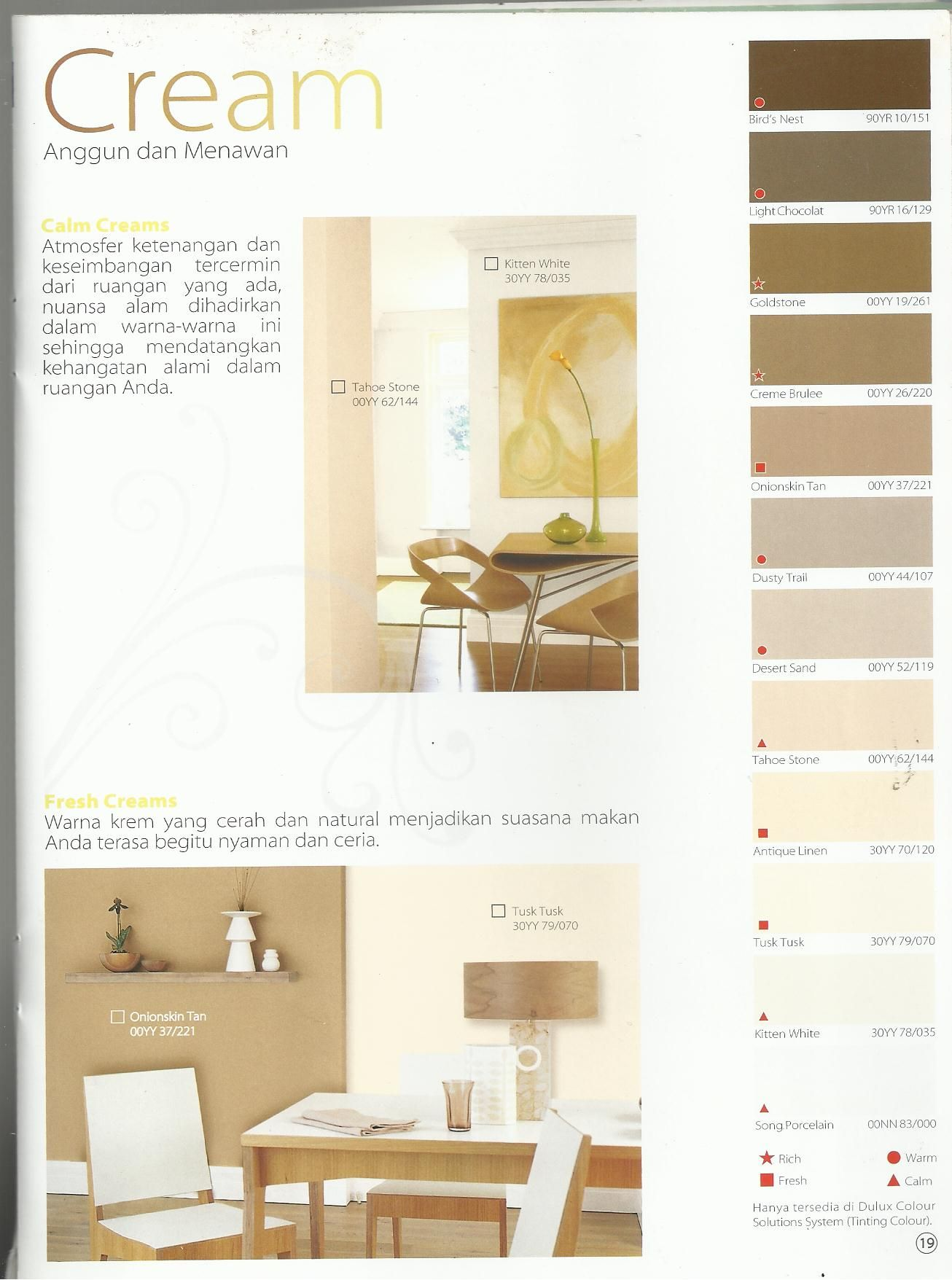 Find This Pin And More On Brosur Dulux Interior Shades 2009 2010 By Odlpku