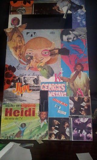 1st collage : o estrabismo dos 80'