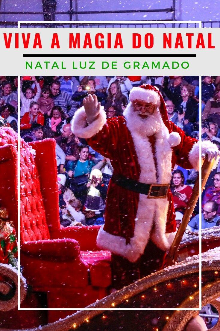 Natal Luz Gramado: viva toda a magia do Natal | Rio grande