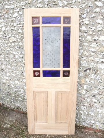 Vestibule Door With Coloured Glass - Stained Glass Doors Company & Vestibule Door With Coloured Glass - Stained Glass Doors Company ... Pezcame.Com