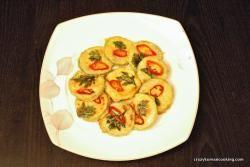 pan-fried breaded zucchini, hobakjeon 호박전