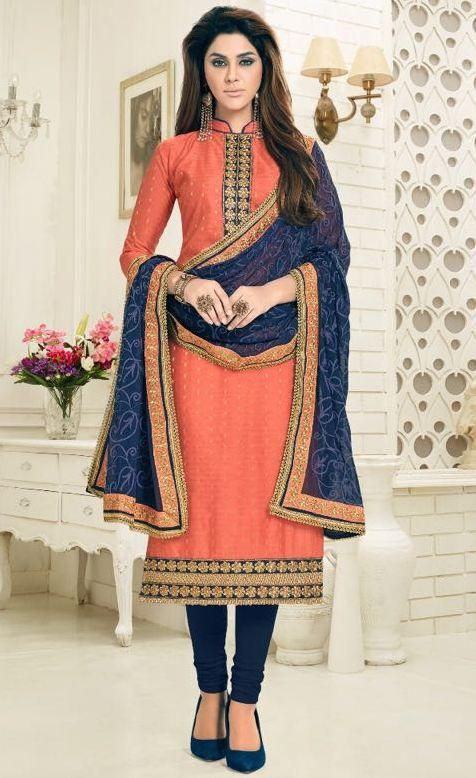 AVC Minakshi Vol-2 Cotton Butti Jacquard Suits (10 pc catalog)
