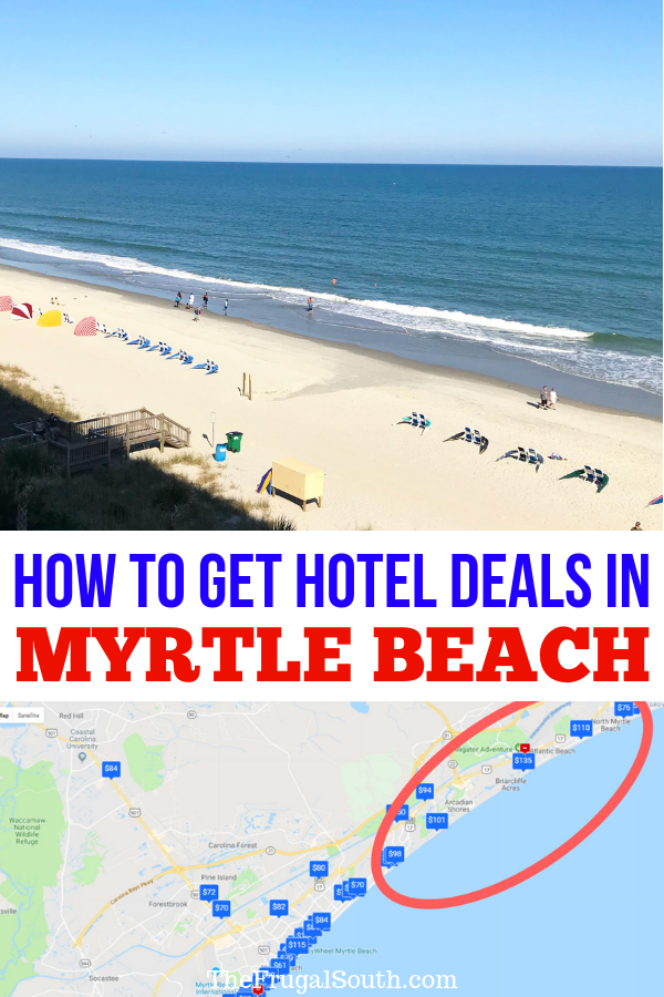 How To Get Deals on Myrtle Beach Hotels & Avoid Tourist