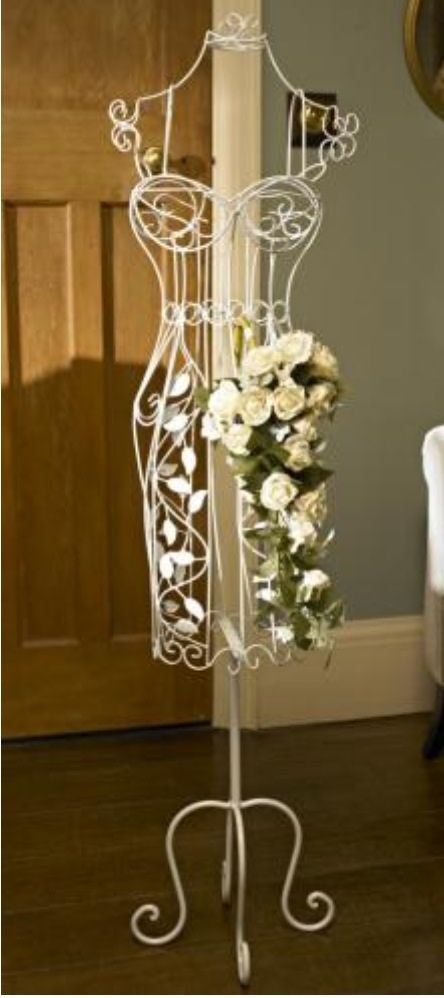 We Sell Decorative Wire Dress Forms Like This So You Can Create This