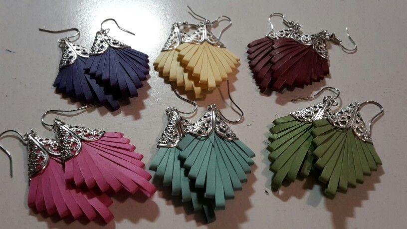 Kira leaves earrings