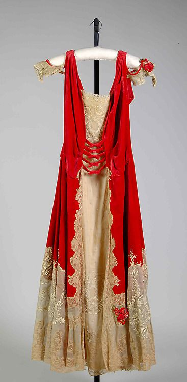 Evening Dress Boué Soeurs, 1918 The Metropolitan Museum of Art