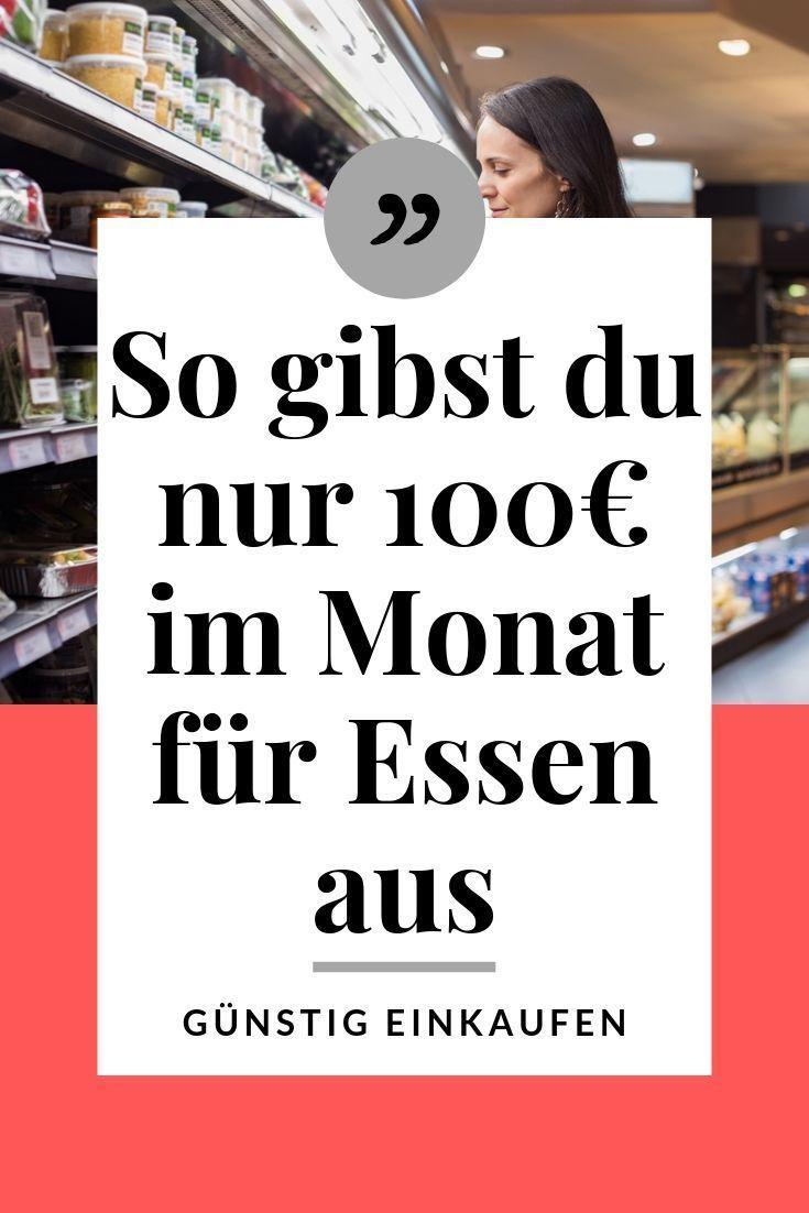 Wie du mit nur 100€ im Monat für Lebensmittel auskommst - Beim einkaufen Geld sparen #couponing