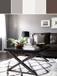 Hamptons Style With Dark Brown Sofa Google Search Modern Rustic Living Room Modern Living Room Brown Brown Living Room Decor