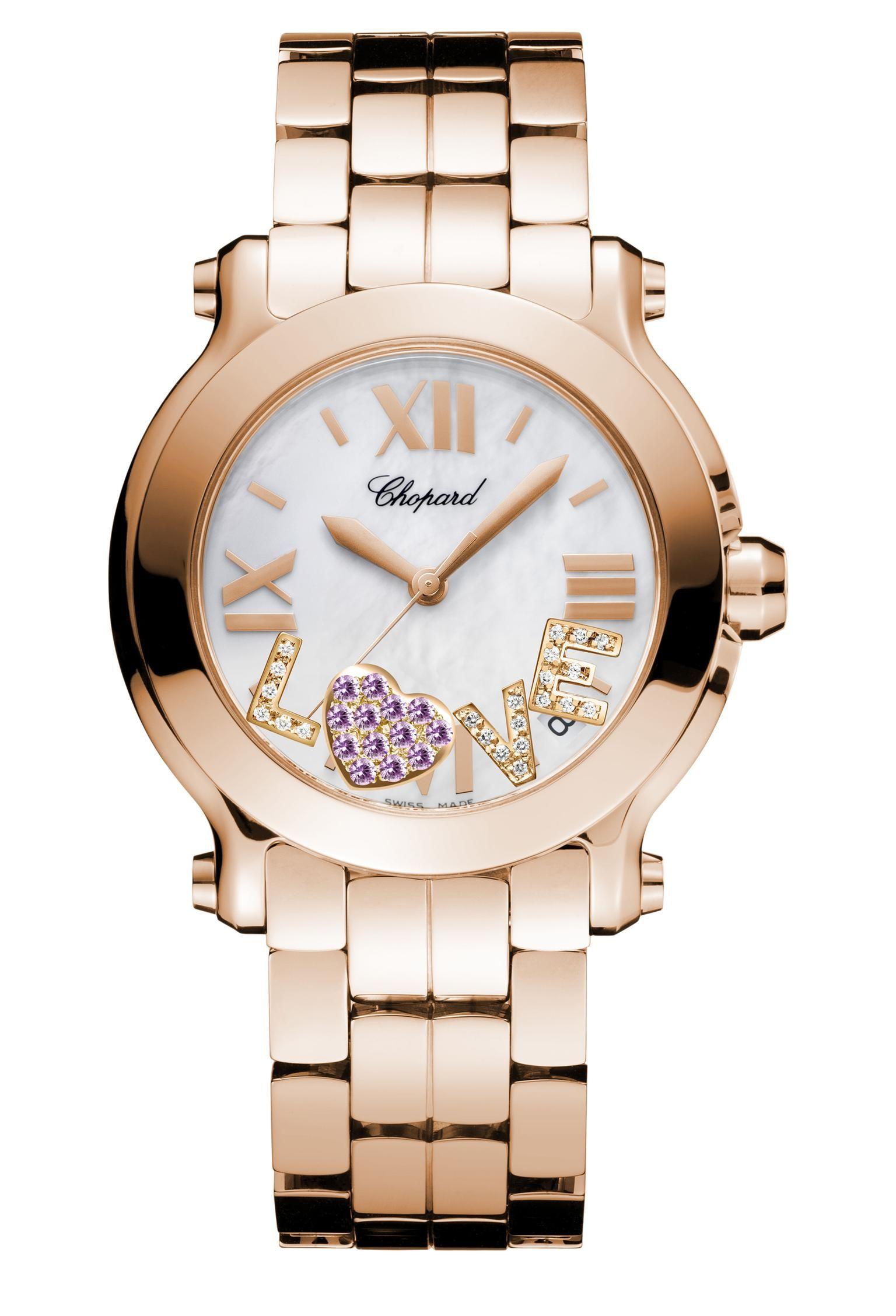 Chopard My Happy watch_20130619_Zoom Gold diamond