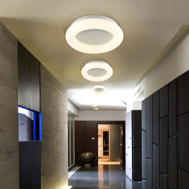 Round Flush Light Led Quasar 28w Schuller Wonderlamp Shop In 2020 Flush Ceiling Lights Flush Lighting Led Ceiling Lamp