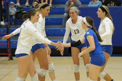 Volleyball Falls In Five Sets At Rhode Island Saint Louis University Saint Louis University Volleyball News St Louis