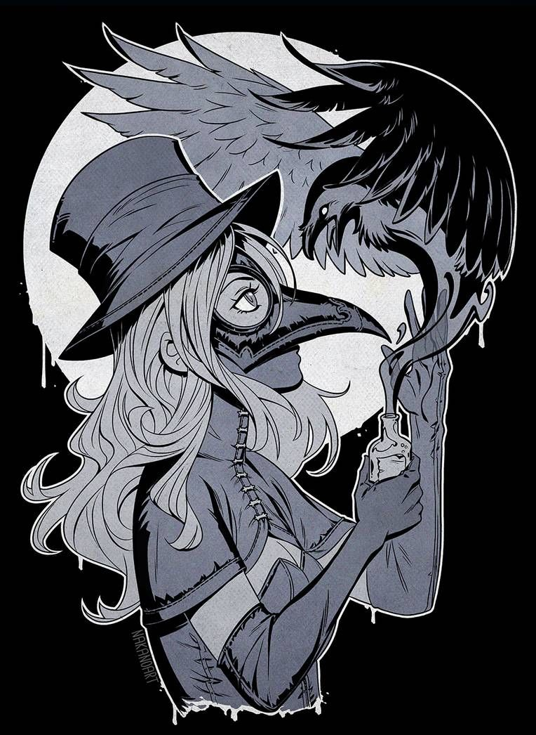 Plague Doctor by nakanoart on DeviantArt (With images