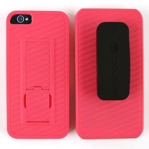 Unlimited Cellular Hybrid Case for Apple iPhone 5/5S (Pink)