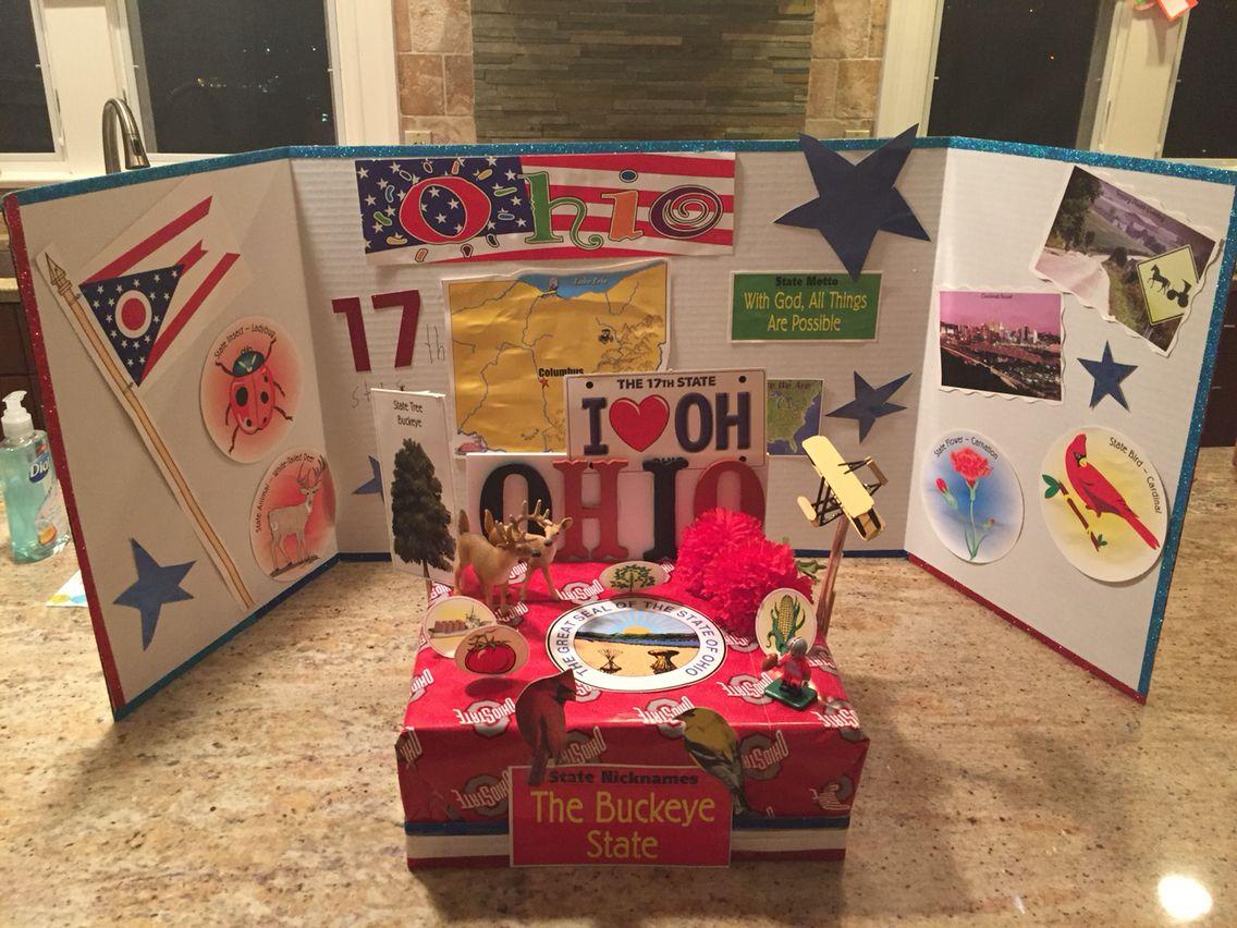 3rd Grade Ohio State Float