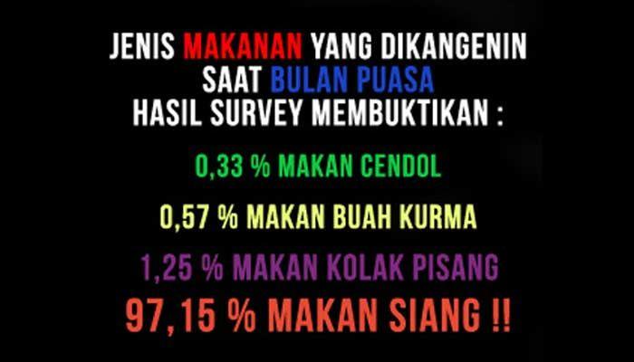 Kata Kata Buat Status Lucu Bulan Puasa Ramadhan 2015 Untuk Dp Bbm