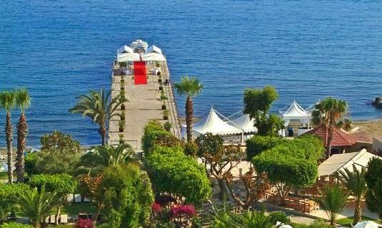 Elias Beach Hotel Limol Cyprus Amazing Wedding Pier X