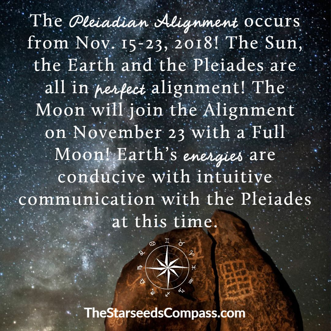 Connect with the pleiades during the pleiadian alignment