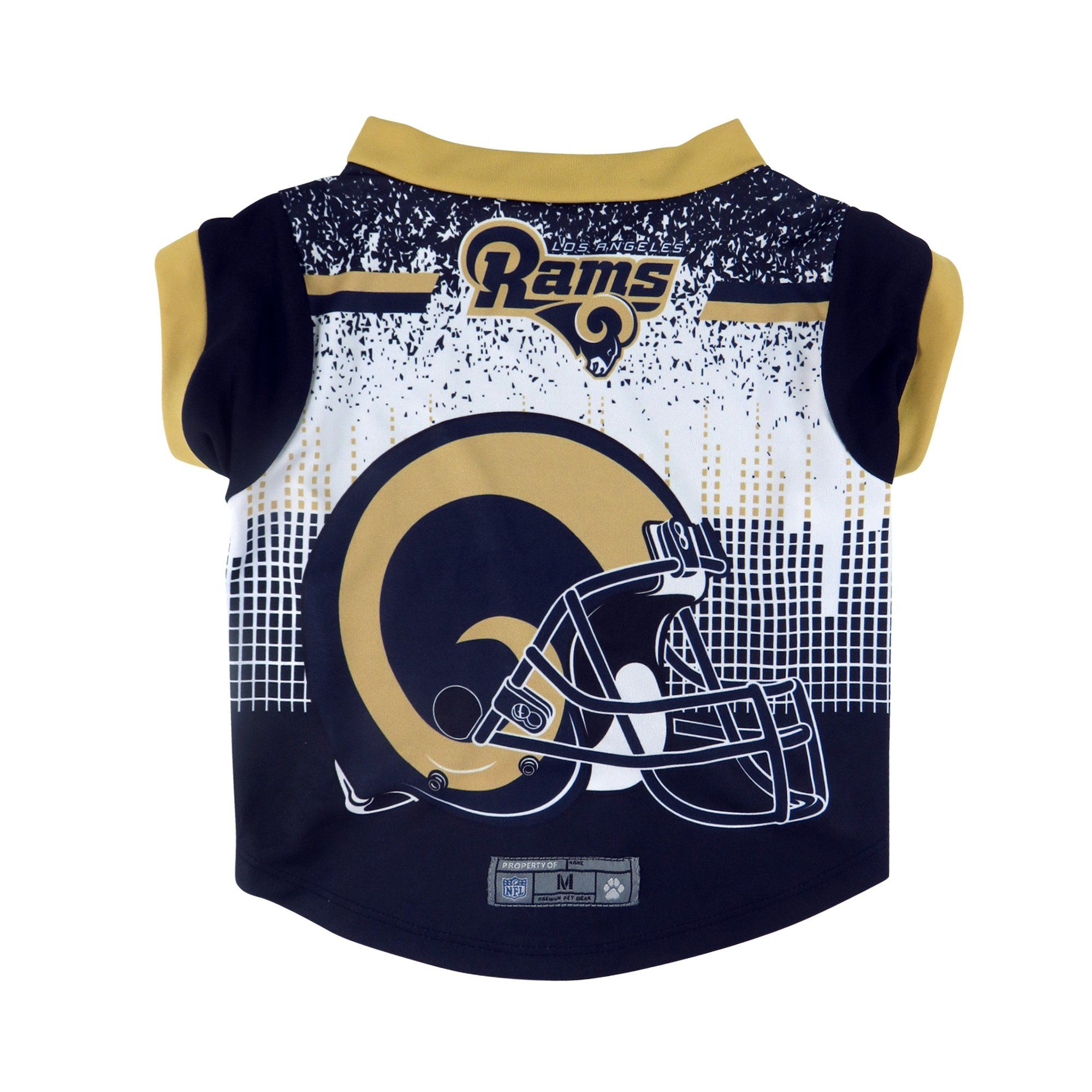 efce3d61 Los Angeles Rams Pet Performance Tee Shirt Size XS | Products | Tee ...