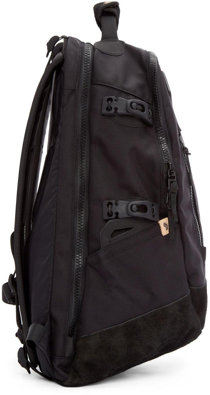 bde976ffda56 Visvim - Black Ballistic 20L Backpack