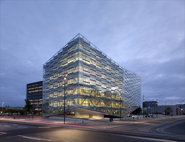 Copenhagen's 'The Crystal' and its double-skin glass façade