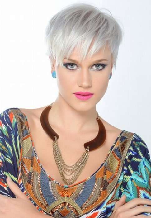 Alman Kısa Saç Modelleri 6 Karizmatik Beyaz Saç Modeli 2015