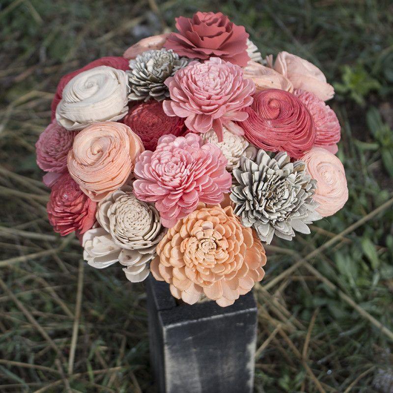 Love this!! Orange Sherbert bouquet