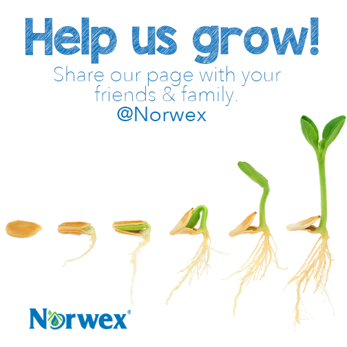Help us grow Share your love for Norwex with your friends and