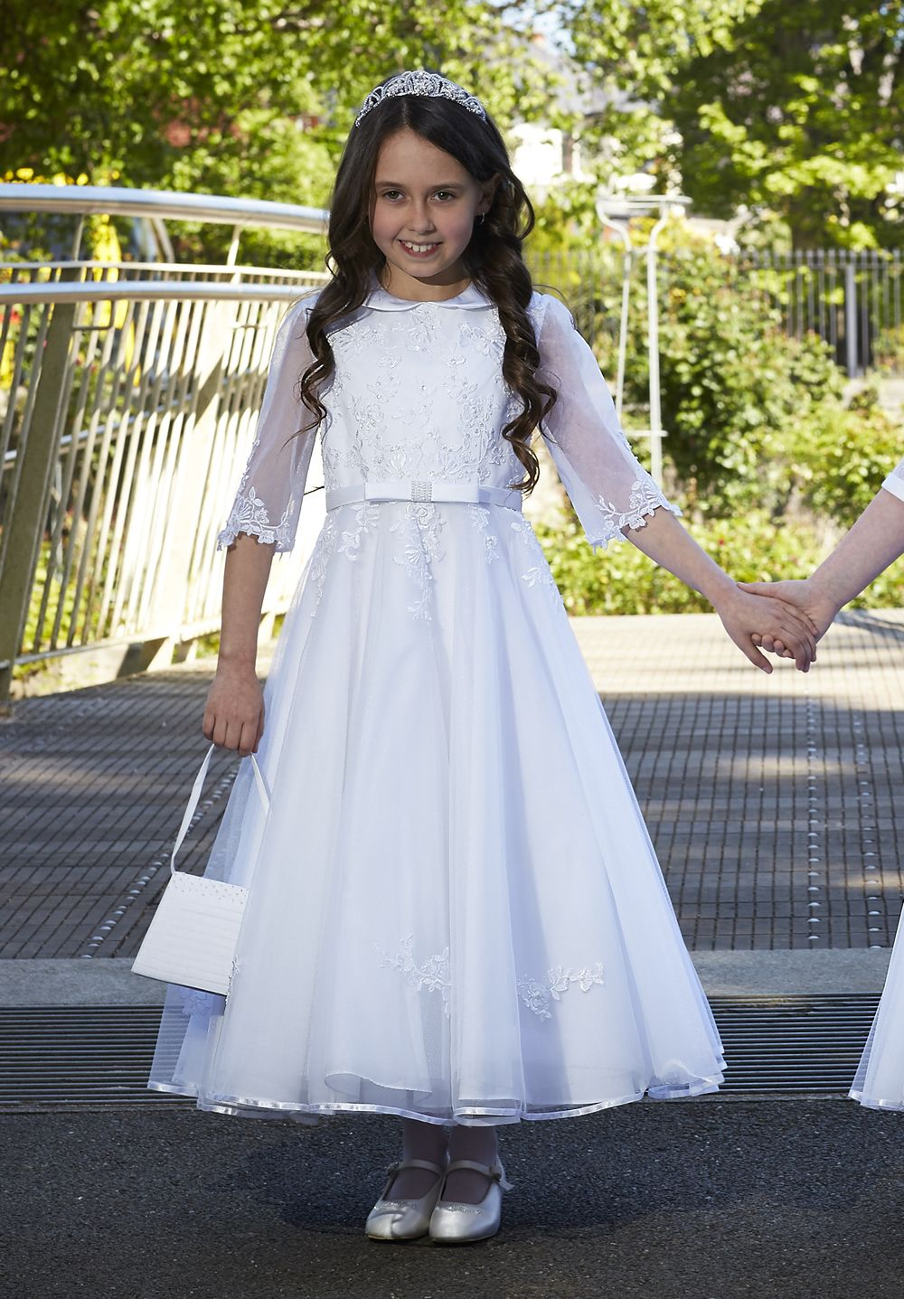 bae522e5fdd Isabella Style IS18120 Long Sleeve First Communion Dress